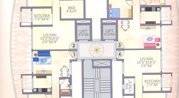 Pramukh Heights Floor Plan