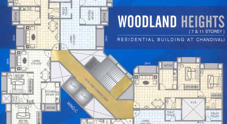 Woodland Heights Typical Floor Plan