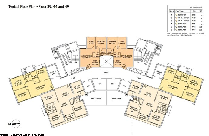 Siddha Seabrook Seabrook Typical  Floor Plan - 11