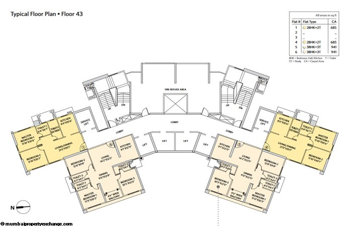 Siddha Seabrook Seabrook Typical  Floor Plan - 12
