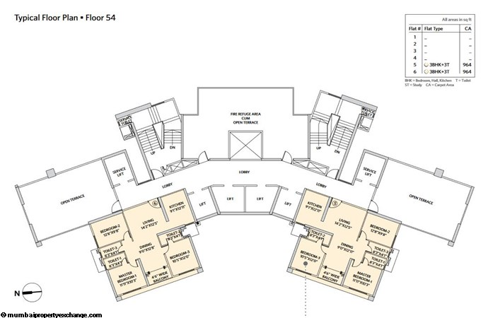 Siddha Seabrook Seabrook Typical  Floor Plan - 13