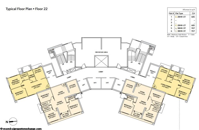 Siddha Seabrook Seabrook Typical  Floor Plan - 5