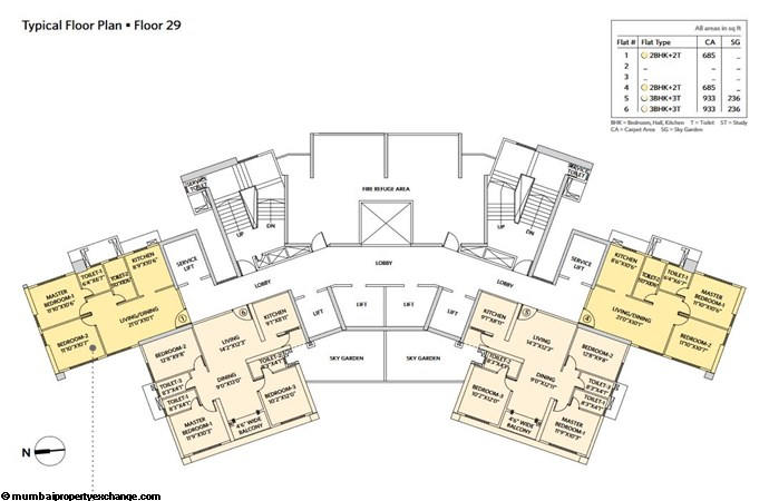 Siddha Seabrook Seabrook Typical  Floor Plan - 8