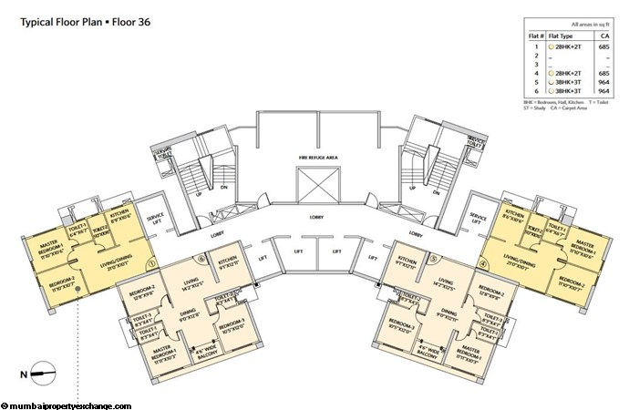 Siddha Seabrook Seabrook Typical  Floor Plan - 9