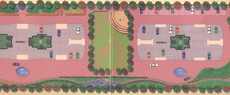 Vakratunda Residency Lay Out