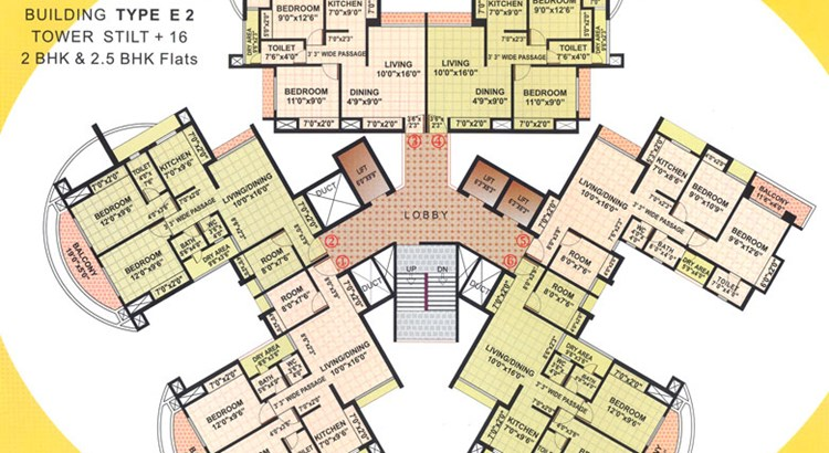 Rutu Towers Floor Plan