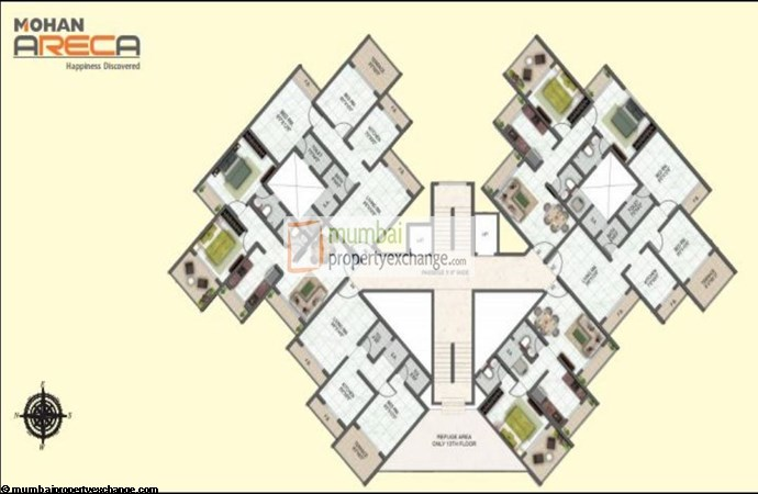 Mohan Areca floor plan
