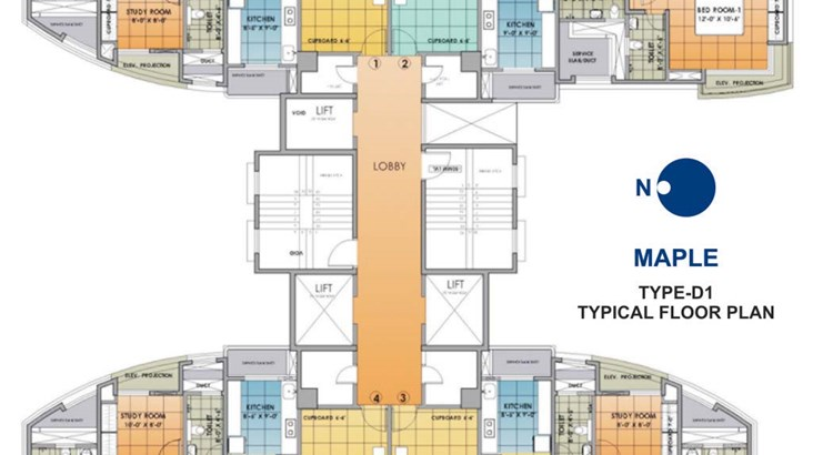 Neelkanth Greens Floor Plan