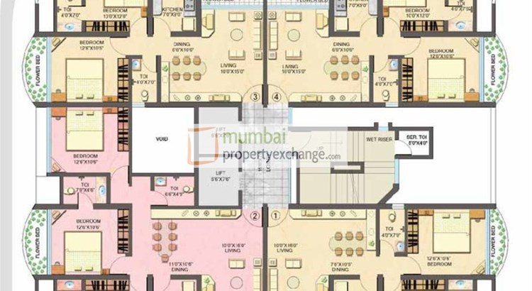 Sanghvi Heights Floor Plan
