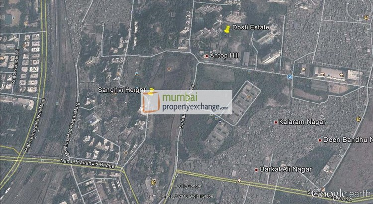 Sanghvi Heights Google Earth