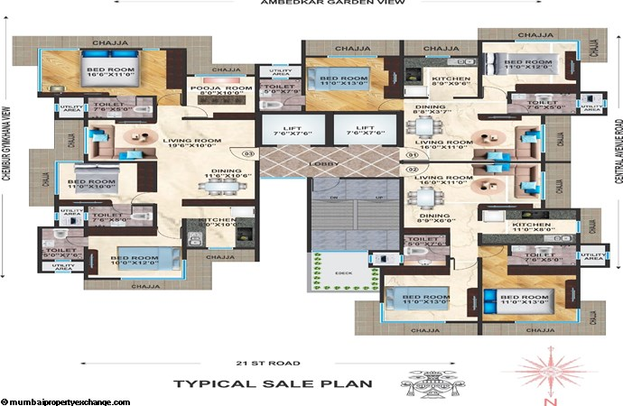 Apsara Heritage Apsara Heritage Typical Floor Plan