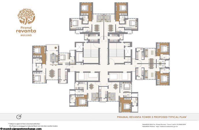 Piramal Revanta  Piramal-Revanta-Floor-Plan Typical Flrpln Tower3