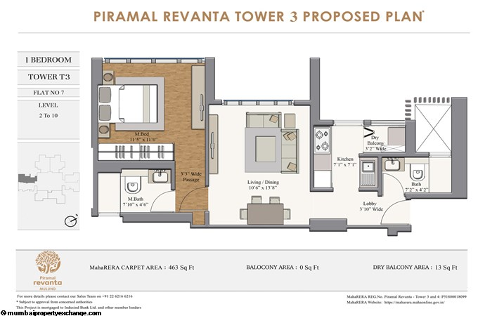 Piramal Revanta  Piramal-Revanta-T3-1BHK-unit-7