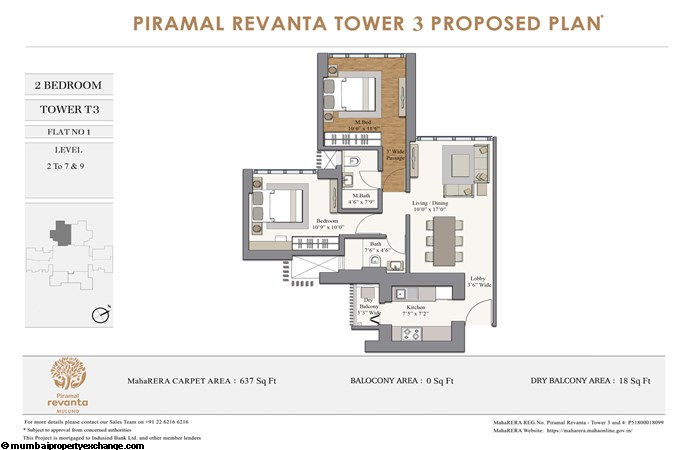 Piramal Revanta  Piramal-Revanta-T3-2BHK-unit-1