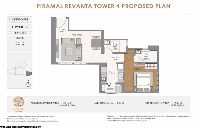 Piramal Revanta  Piramal-Revanta-T4-1BHK-unit-4