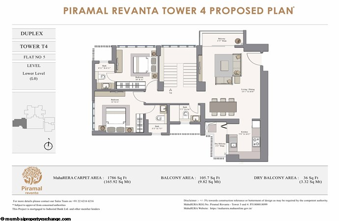 Piramal Revanta  Piramal-Revanta-T4-duplex-unit-5-Lower Level (L0)