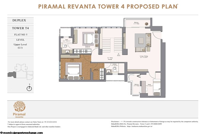 Piramal Revanta  Piramal-Revanta-T4-duplex-unit-5-Lower Level (L1)