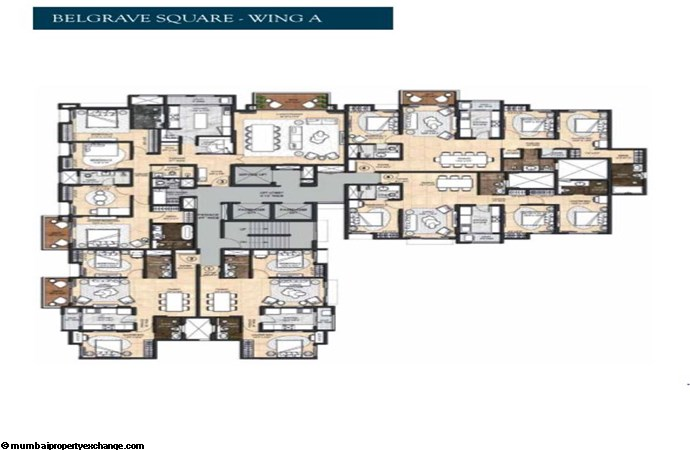 Lodha Sterling 1 Lodha Sterling Belgrave Square Wing A