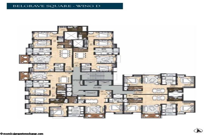 Lodha Sterling 4 Lodha Sterling Belgrave Square Wing D