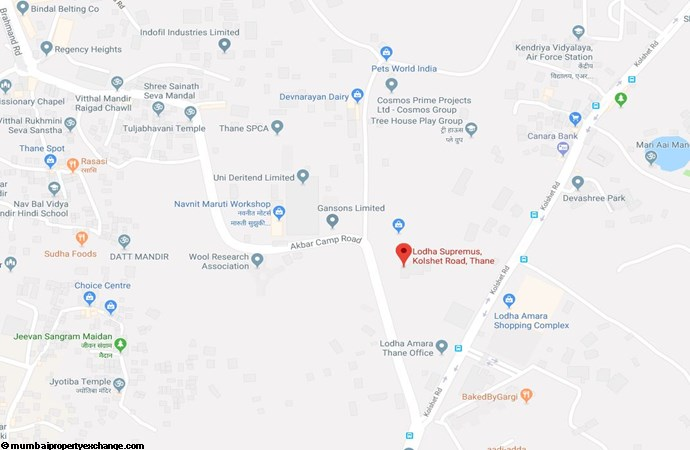 Lodha Codename Only The Best Codename Only The Best Location Map