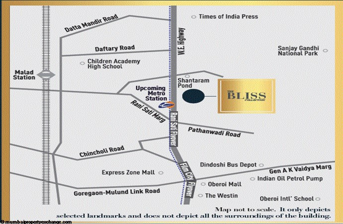 The Bliss Collection Omkar Bliss Location