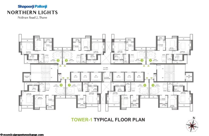 Northern Lights Northern Lights Typical Floor Plan-1