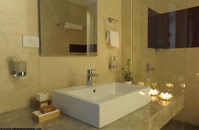 L and T Seawoods Seawoods Residences Bathroom