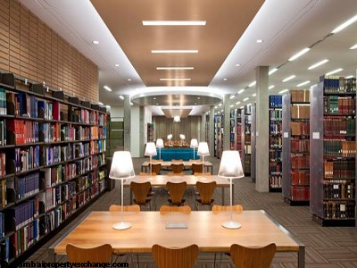 L and T Seawoods Seawoods Residences Library-Reading Lounge