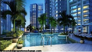 L and T Seawoods Seawoods Residences Swimming Pool