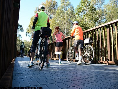 L and T Seawoods Seawoods Residences Walking-Cycling-Tracks