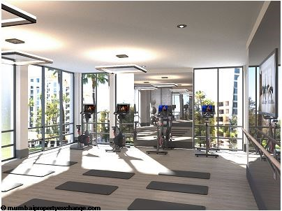 L and T Seawoods Seawoods Residences Yoga -Dance Room