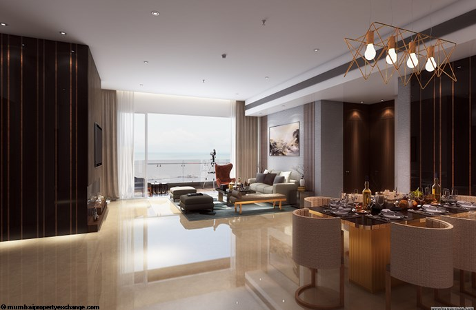 Vivarea Tower E K Raheja Vivarea-4BHK-living