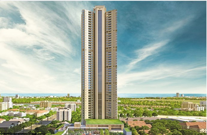 Vivarea Tower E K Raheja Vivarea Eleavtion