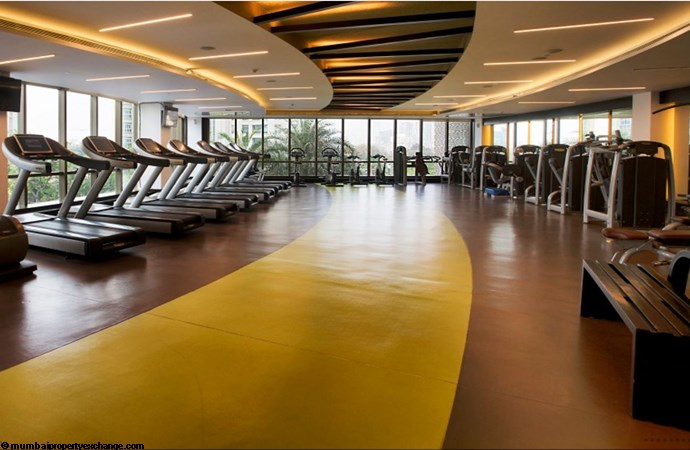 Vivarea Tower E K Raheja Vivarea Gym