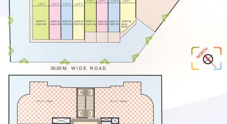 Riddhi Siddhi Heights Lay Out