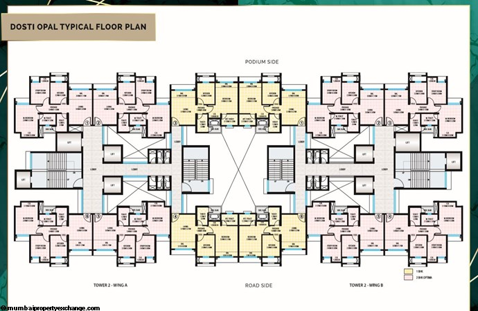 Planet North Opal Planet North Opal Typical Floor Plan