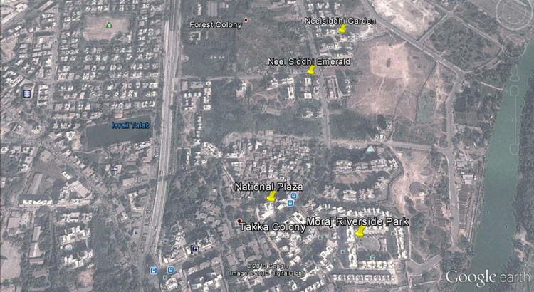 Neel Siddhi Garden Google Earth
