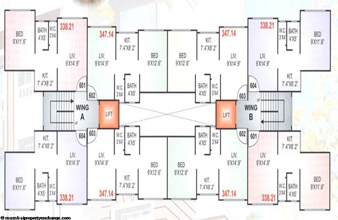 Geetanjali Floor Plan
