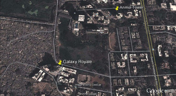Galaxy Royale Google Earth