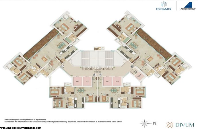 Dynamix Divum Dynamix Divum Typical floor Plan 1