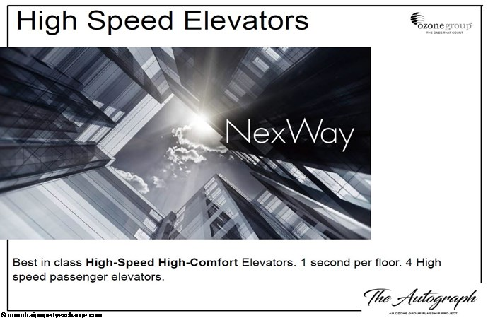 The Autograph The Autograph High Speed Elevators