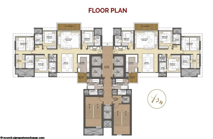 Raymond Insignia Raymond Insignia Typical floor Plan