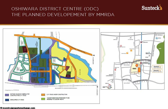 Sunteck 4th Avenue Planned Development of MMRDA