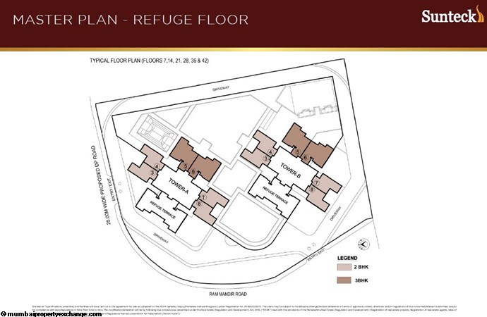 Sunteck 4th Avenue Sunteck 4th Master Refuge Plan