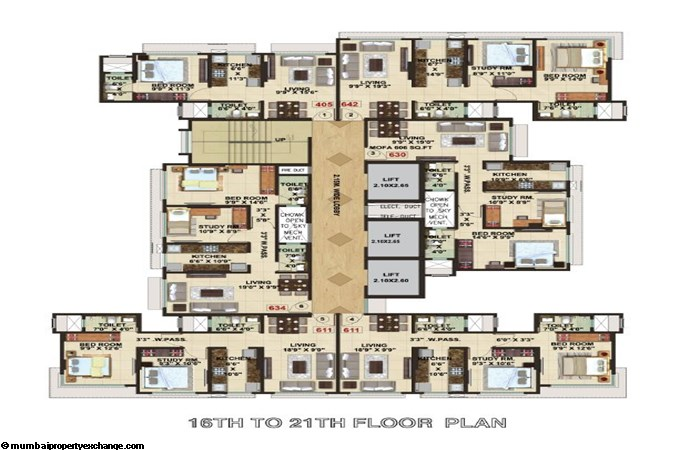 The Signature Tower Signature Tower Typical Floor Plan 2