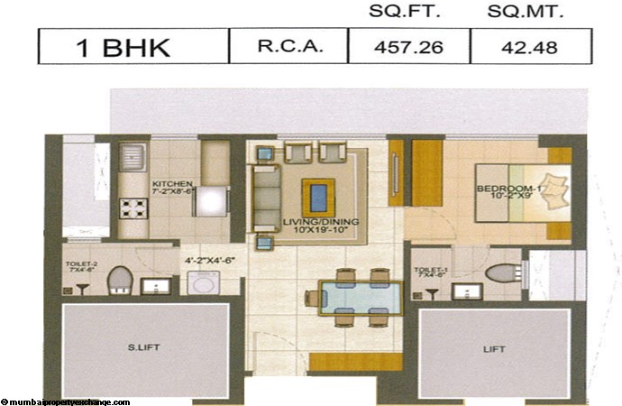 Runwal Pinnacle Runwal Pinnacle 1BHK Plsn