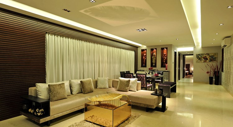 Kalpataru Aura Living Room
