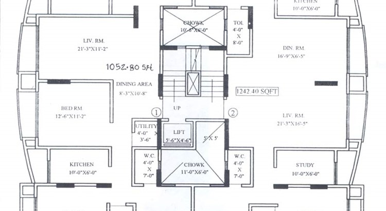 Acme Sweet 16 7th Floor Plan