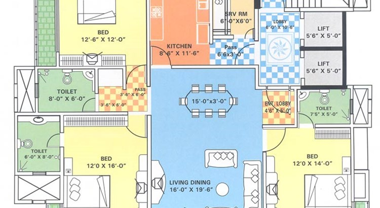 Emporis 6 Floor Plan