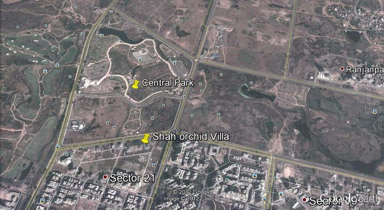 Shah Orchid Villa Google Earth